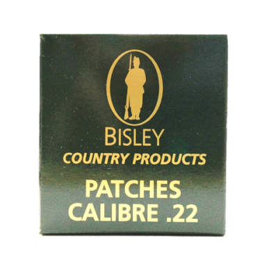 Bisley country products Cleaning Patches cal. 22