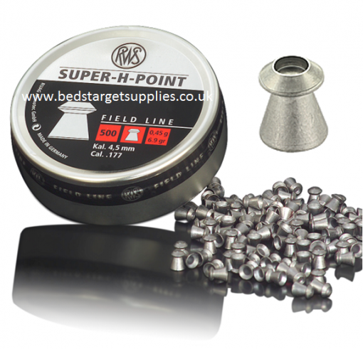 RWS Super H point 177 pellets