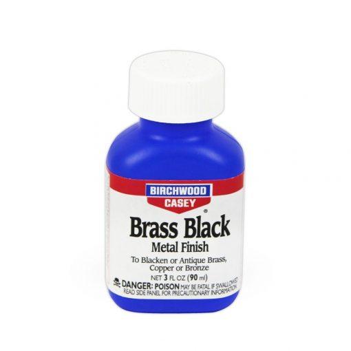 Birchwood Casey Brass BLack Metal Finish