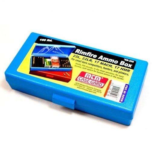 MTM Blue Ammo Box