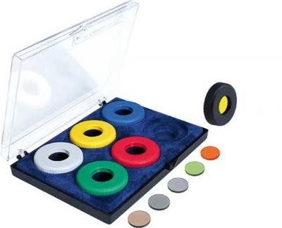 Gehmann 508 - 6 Piece Coloured ring and filter set