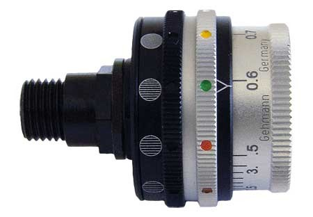 Gehmann 569 Rearsight Iris with Colour & Grey Scale Filters